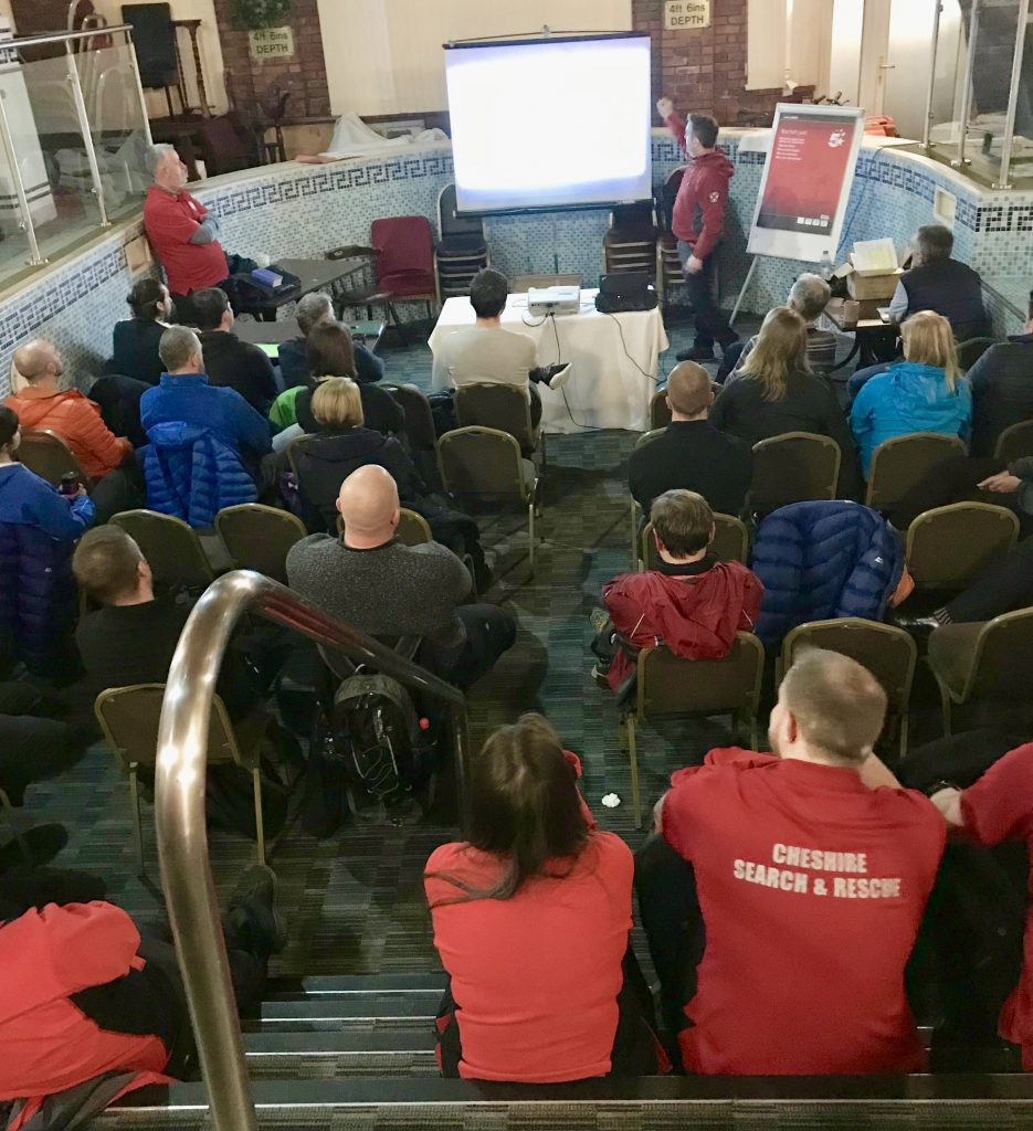 Health and Safety training with Cheshire Search and Rescue